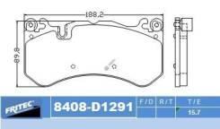 Комплект торм. колодок Ceramic Fr для Mercedes BENZ ML, GLE, GLC (C253/X253) AMG 63 17-, S(W222, X222, V222) AMG S63 17-, Maybach S650(A217) 17-, AUDI A6 RS6 08-, A7 RS7 13-, Q3 RS 13- [SPC-8408-Z-D1291], правый передний