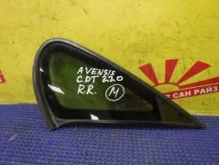 Стекло боковое заднее правое глухое Toyota Avensis CDT220 62710-05070