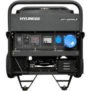 Генератор бензиновый Hyundai HY 12000LE. 9/10кВт. 220В. эл. старт. Д. У