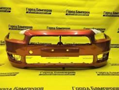 Новый передний бампер в цвет Mitsubishi Lancer X (07-12) [6400D172]