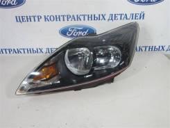 Фара с кор. Ford Focus 2 2008-2011, левая