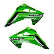 Пластик зеленый боковой передний Regulmoto Sport 003