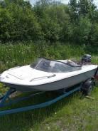 Продам лодку Yamaha TRI 12 с мотором и телегой