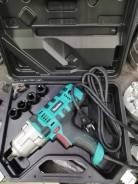 Гайковерт электрический ударный 220 в 900w 520 Nm в кейсе