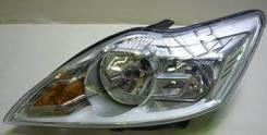 Фара передняя левая внутри хромированная (китай) OEM 1744977 Ford Focus 2 -