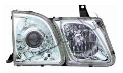 Фара правая евросвет дальний, зелен стекло OEM ST3121100R Lexus LX 2 -