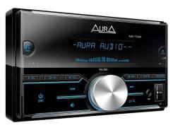 Автомагнитола AURA AMD-772DSP. блютуз /USB /AUX. процессорная 3RCA