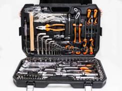 Набор инструментов для дома и машины 129 предметов. слесарный набор