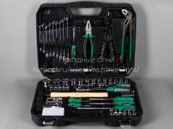 Набор инструментов для дома и машины 100 предметов. слесарный набор