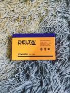 Аккумулятор Delta DTM-612 (6В, 12Ач / 6V, 12Ah / вывод F1) (UPS серия)