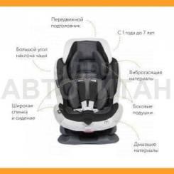 Кресло детское автомобильное Swing Moon Premium, группа 1/2, черно-серое | Ailebebe ALC460E |