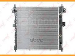 Радиатор охлаждения двигателя SsangYong Kyron (DJ) (06-16) D20DT (5AT) / Actyon (СJ) (05-10) D20DT (5AT)   LYNXauto RB1118   [RB1118]