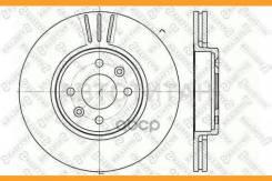 Диск тормозной передний! Renault Clio/Megane/Laguna 1.6-2.0/1.9D 96> Производитель: Stellox 6020-3919V-SX_ [60203919VSX]
