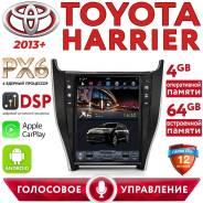 Автомагнитола Toyota Harrier (2013+). Tesla. DSP процессор. Android-9.