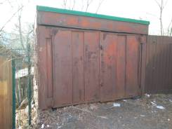 Железный гараж без места