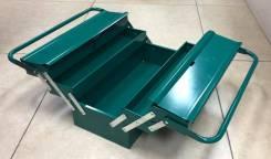 Ящик для инструмента Tstop трехполочный, железный. 420*200*200мм