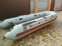 Продам лодку ПВХ с надувным дном Навигатор 380