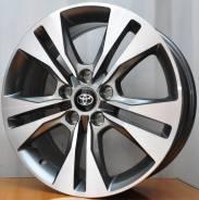 Новое, комбинированого цвета штатное литье Toyota на 17 с отв.5на114.3