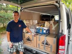 Перевозка домашних вещей и мебели. Переезд. Фургон. Грузчики. Вывоз мусора