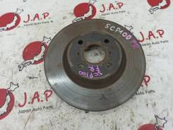 Тормозной диск Toyota Ractis [4351252130] SCP100 2SZFE, передний