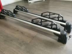 Оригинальные поперечнины на рейлинги BMW X3 E83 c креплением для лыж