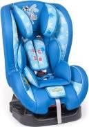 Детское кресло Смешарики, группы 0+,1 (0-18 кг/0-4 года), синий/голубой с Крошем