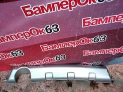 Накладка бампера задняя Renault Sandero