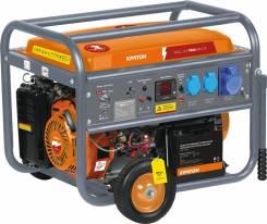 Генератор бензиновый Кратон GG-7500-EM-ATS. 7000/7500Вт. эл. старт.