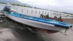 Лодка рыбацкая с мотором Yamaha115 4х. т.