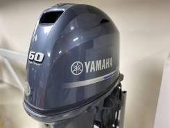 Мотор лодочный Yamaha 60 4т. Карбюратор, длинная нога, дистанция