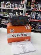 Колодки тормозные дисковые передние Nisshinbo NP1023