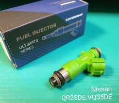 Форсунка топливная (Инжектор) Nissan QR25DE, VQ35HR, VQ35DE, QR20DE