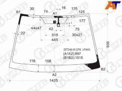 Стекло лобовое Toyota Allion, Toyota Allion #ZT24# 01-07, Toyota Premio, Toyota Premio #ZT24# 01-07 XYG ZZT240-R-CPS LFW/X