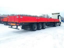Бортовой полуприцеп МАЗ 975800-2010 трехосный