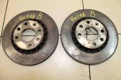 Диск тормозной передний (к-кт) Opel Vectra B 1999-2002