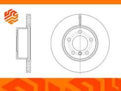 Диск тормозной вентилируемый G-Brake GR21402