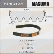 """Ремень ручейковый """"Masuma"""" 5PK- 875"""