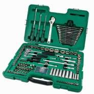 """Набор инструментов SATA, под размеры 1/2"""", 1/4"""" и 3/8"""", комплект 124 предмета, арт. 09014 (New)"""