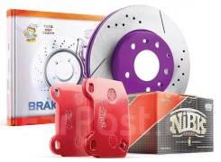 Японские тормозные диски NIBK / замена в СТО / доставка по РФ