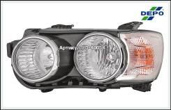 ФАРА Левая С Регулирующим Мотором ХРОМ Шевроле Aveo T300 2011 - по настоящее время [235-1114Lmldem1]