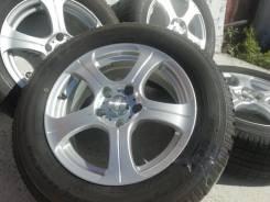 Фирменные литые диски Weds King на шинах Toyo 215/60R16