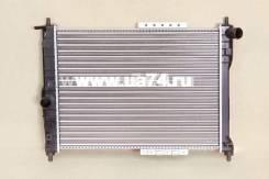 Радиатор двс пластинчатый Chevrolet Lanos 97- / Zaz Chance 09- / Sens 07- (JPR0149 / JustDrive)