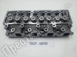 Головка блока цилиндров Nissan / TD27 / QD32 / Новая / В сборе