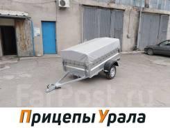 Прицеп Викинг 7161-00 (борт 500мм, колеса R13) кузов 2х1,25 м