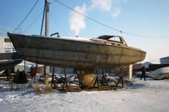 Куплю металлический корпус яхты