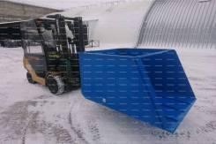 Самосвальный ковш для вилочного погрузчика до 5 тонн