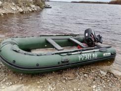 Продам лодку ПВХ 4,2м с мотором suzuki DT-40
