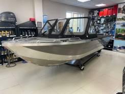 Моторная лодка Fusojet Tumah 565 в комплекте с ПЛМ Yamaha F130AETL