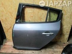 Дверь Renault Megane KZ0G (2008-2012) Зад Лево Серый