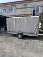 Продам прицеп легковой фургон со сходнями под снегоход/квадроцикл